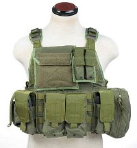 View Pantac MOLLE Style PC Plate Carrier (OD / Medium / CORDURA) details