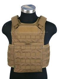 View Pantac Molle Tactical Plate Carrier Full Set (CB / Medium / Cordura) details